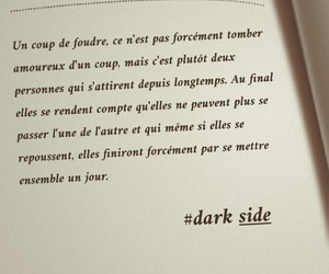 amour, Citations, and cute couple image