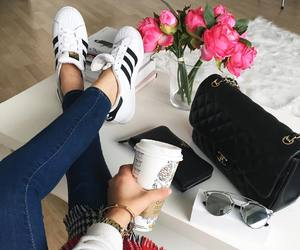 fashion, adidas, and bag image