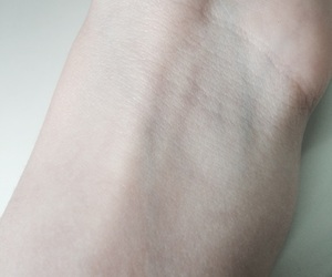pale, veins, and woman image