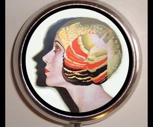 etsy, flapper, and pillbox image