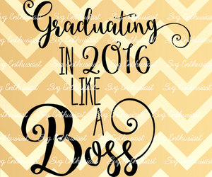 2016, etsy, and graduation image
