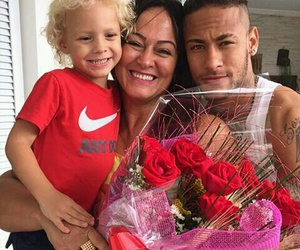 neymar, family, and nadine image