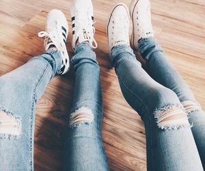 distressed, cute, and adidas image