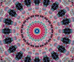 backround, colores, and mandala image