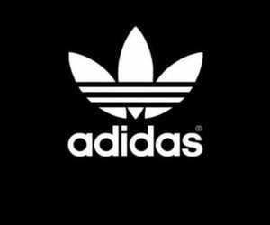 adidas, pink, and wallpaper image