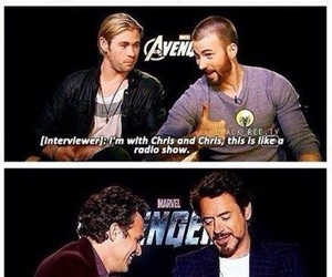 Marvel, chris hemsworth, and Avengers image