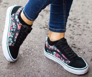 floral and vans image