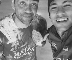 Barca, football, and neymar image