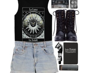 girl, outfits, and Polyvore image