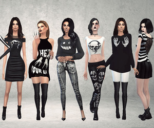 outfits and the sims image