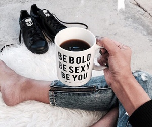 coffee, bold, and sexy image