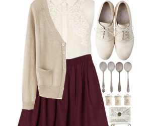 girl, outfits, and vintage image