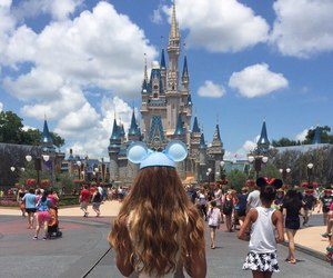 architecture, buildings, and disney image