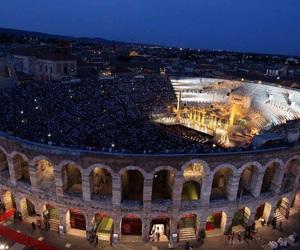 architecture, arena, and arena di verona image
