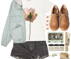 demin, girl, and outfits image
