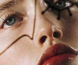 blue eyes, face, and chloé le drezen image