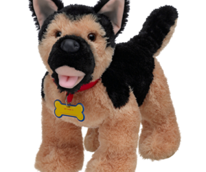 german shepherd and build-a-bear image