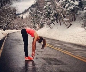 fitness, winter, and sport image