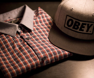 obey, cap, and photography image