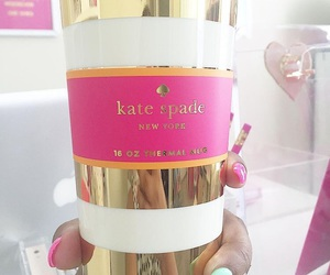 pink and kate spade image