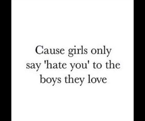 and, love, and boys image