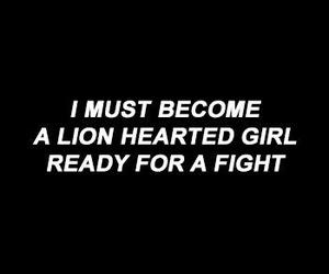 quotes, lion, and black and white image