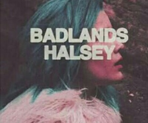 halsey, badlands, and wallpaper image