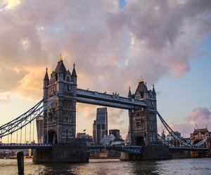 city, landscape, and london image
