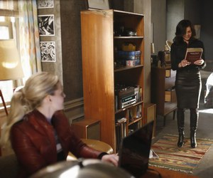 once upon a time, regina, and emma image