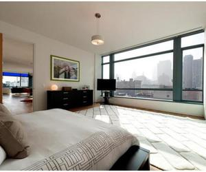 bedroom, new york, and penthouse image