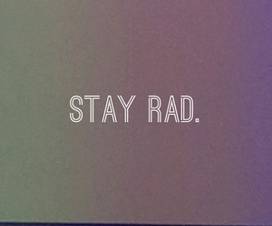 hipster, quote, and rad image