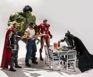 batman, thor, and Hulk image