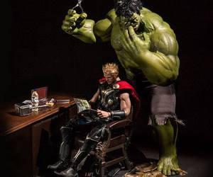 Hulk, thor, and Marvel image