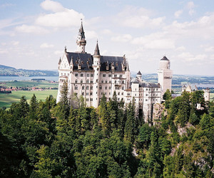 castle, germany, and vintage image