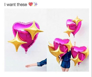 balloons, birthday, and heart image