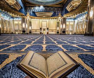 islam, quran, and mosque image