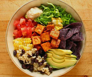 food, vegan, and healthy image