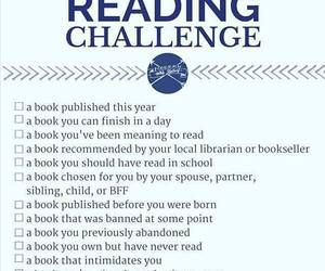 books, challenge, and different image
