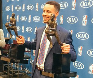 NBA, mvp, and golden state warriors image