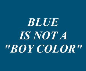 blue, color, and quotes image