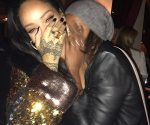 rihanna, tattoo, and Queen image
