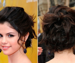 selena gomez, hair, and hairstyle image