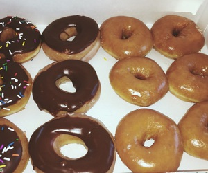 aesthetic, donut, and donuts image