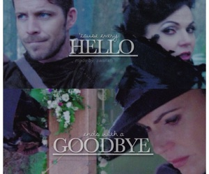 once upon a time, outlawqueen, and lana parrilla image