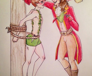 larry, fanart, and peter pan image