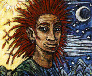 art, black man, and fantasy image