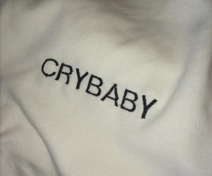 crybaby, grunge, and white image