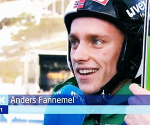 norway, anders fannemel, and ski jumping image