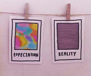 reality, expectations, and grunge image