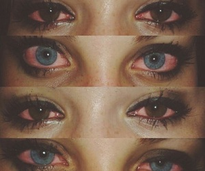 eyes, sad, and weed image